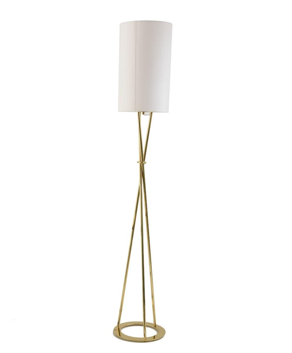 Luminária de Chão NÓ Ouro Velho