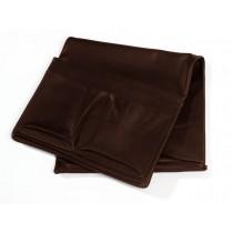 Bolsa PRASSI no couro marrom CO-636/037