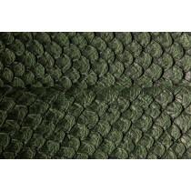 Pele de Peixe PIRARUCU Cor Verde Escuro